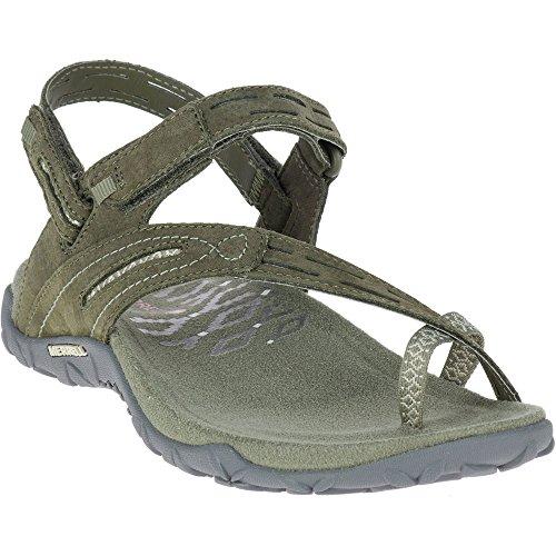 Merrell Damen Terran Convertible II Sandale Staubige Olive