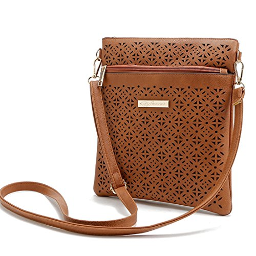 Cross Black Purse Mini Wallet Body Message Bag Design Hollow Cellphone UNYU Bag Small Travel Shoulder d86qAd
