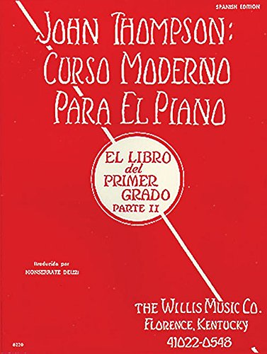 Modern Course Book 2 Curso Moderno (Spanish) Piano (Spanish Edition) [Willis] (Tapa Blanda)