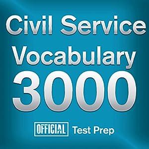 Official Civil Service Exam Vocabulary 3000 Audiobook
