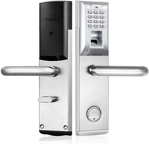 Electrónica biométrica Cerradura de puerta Contraseña de huella ...