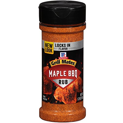 McCormick Grill Mates Maple BBQ Rub, 5.75 Ounce ()