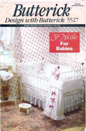 Amazon.com: Butterick 5527 Sewing Pattern Home Decor St. Nicole Baby ...
