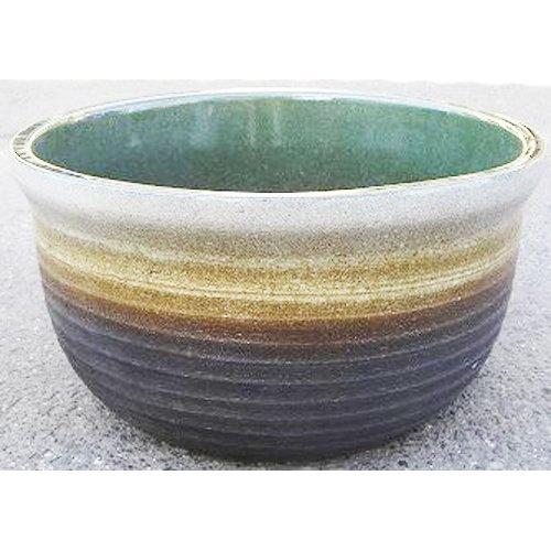 陶器製 睡蓮鉢 RH-CE 千段 外径43cm 穴無し ウォーターボール B06XZF4ZWX   43cm