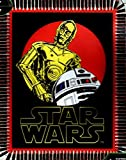 Star Wars R2-D2 and C-3PO NO Sew Fleece Throw Kit