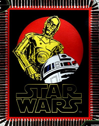 Star Wars R2-D2 and C-3PO NO Sew Fleece Throw Kit by Star Wars