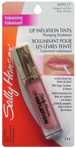 Sally Hansen Lip Inflation Tints, Pink Plumping Treatment, 6690-17