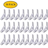 ShengTang 30 Packs Tablecloth Clips Stainless Steel Table Cover Clamps Cloth Holders Great for Picnics Marquees and Weddings