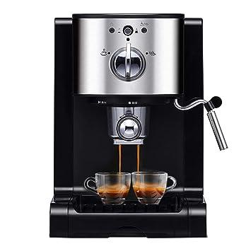 Máquina de café pequeña máquina de Vapor semiautomática Italiana: Amazon.es: Hogar