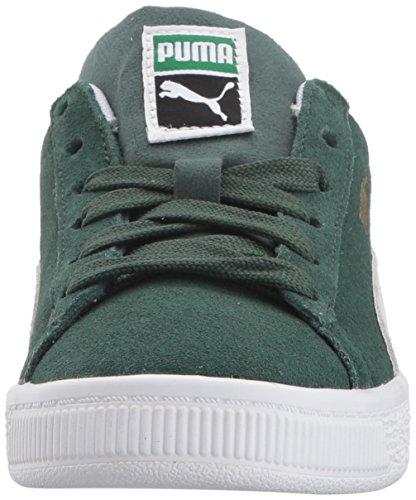 Puma Vorschulschuhe Aus Wildleder Pineneedle/Puma White