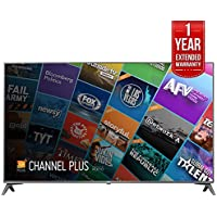 LG 75 Class 4K UHD HDR Smart IPS LED TV (75UJ6450) with 1 Year Extended Warranty
