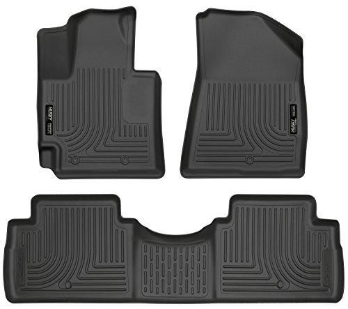 Husky Liners Front & 2nd Seat Floor Liners (Footwell Coverage) Fits 14-16 Soul