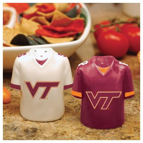 NCAA Virginia Tech Hokies Gameday Ceramic Salt & Pepper (Virginia Tech Salt)