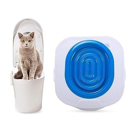 Kit de entrenamiento de inodoro para gatos Aolvo, sistema de entrenamiento para gatos de plástico, ...