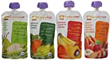 Happy Tot Organic Superfoods Stage 4, 4.22 OZ Baby Food Pouches Variety Pack of 16
