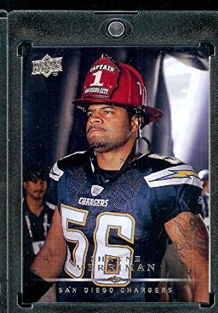 Amazon.com  2008 Upper Deck  156 Shawne Merriman - San Diego Chargers - NFL  Trading Cards  Collectibles   Fine Art 09410501f