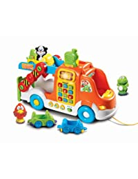 VTech Pull and Learn Car Carrier Pull Toy BOBEBE Online Baby Store From New York to Miami and Los Angeles