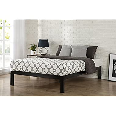 Zinus Quick Snap TM 14 Inch Platform Bed Frame / Mattress Foundation / with Less than 3 Inch Spacing / Wooden Slat Support / no Bolts or Nuts / Easy Assembly, Full