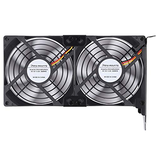 GPU Cooler PCI Slot Fan Dual 92mm Graphic Card Fans for Video Card VGA Cooler