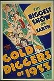 Gold Diggers Of 1933, Warren William & Joan Blondell, Aline Macmahon, 1933 - Premium Movie Poster Reprint 28