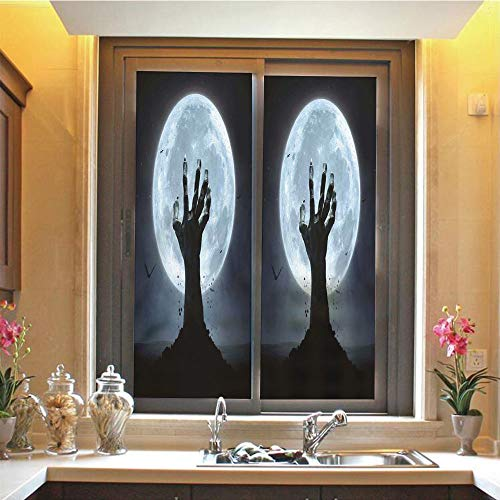 Halloween Decorations 3D No Glue Static Decorative Privacy