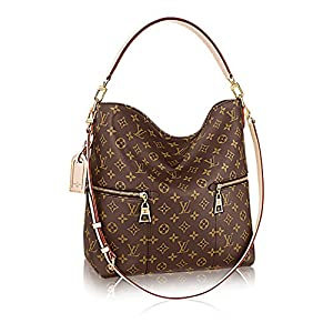 9. Louis Vuitton Mélie Monogram Canvas Leather Shoulder Handbag