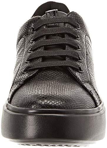 black D Mujer Geox Nhenbus C9999 Zapatillas Para A w6XYq4dxY