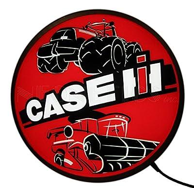 """Neonetics Case IH International Harvester Tractors Backlit LED Lighted Sign, 15"""""""