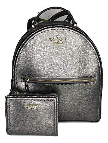 Kate Spade New York Patterson Drive Sammi WKRU5647 bundled with matching Kate Spade New York Patterson Drive Small Shawn WLRU5156 (Pewter)