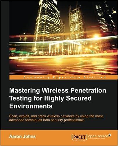 Mastering Wireless Penetration Testing