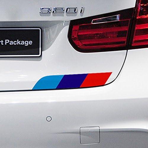 MagiDeal Pegatina Calcoman/ía de Vinilo Raya de Estilo Alemania para Coche BMW Serie 3//5//7-1.5m