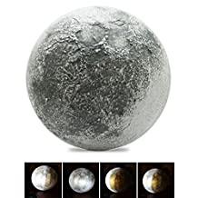 Moon Lamp Light LED Wall Night Lights With Remote Control for Art Room Kid Bedroom
