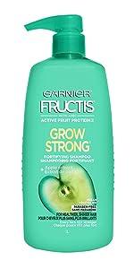 Garnier Fructis Grow Strong Shampoo, 33.8 fl. oz.