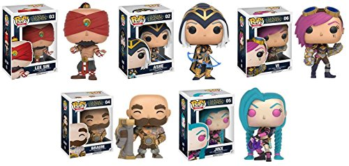 Funko POP! League Of Legends Lee Sin + Ashe - Video Game Vinyl Figure Set NEW