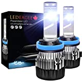 LED EAGLE StarLight H8/H9/H11 HID Xenon Bright White CREE LED Headlight Bulbs Conversion