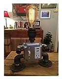 DESK BOT Edison bulb industrial desk table vintage steam punk lamp