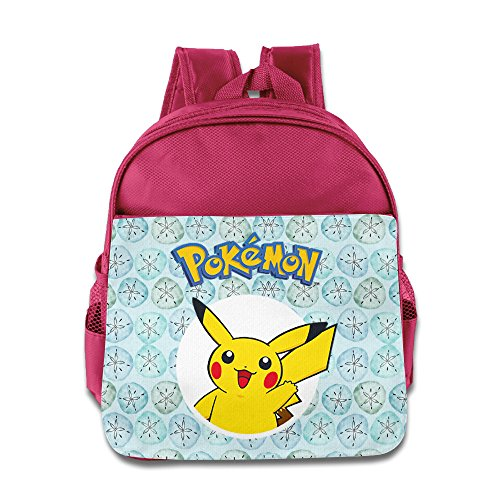 AALEXXJI1 Pokemon Go Pika Pika Pikachu Kids/Children School Backpacks/Bags For Unisex