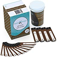 KETO-MOJO 50 Blood Glucose Test Strips, Precision Sugar Measurement for Diabetics, Monitor Your Diabetes & Ketogenic Low Carb Diet and Nutritional Ketosis, Strips Work only in KETO-MOJO Meters
