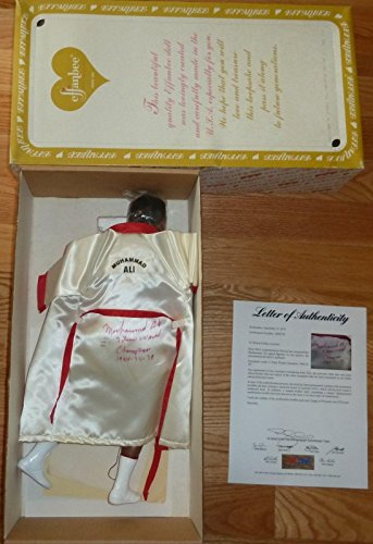 "Muhammad Ali""3 Time World Champ 64-74-78"" Signed Effanbee 18-inch Doll - PSA/DNA Certified - Boxing Equipment"