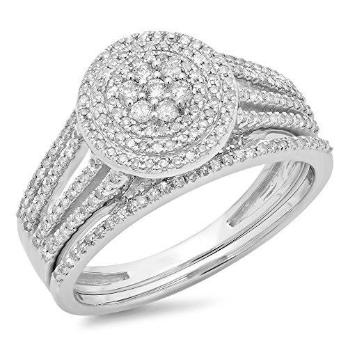 0.55 Ct Diamond Set - 8