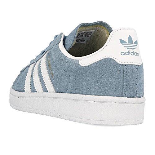 adidas Campus C, Zapatillas de Deporte Unisex Niños Azul (Azucen / Ftwbla / Ftwbla 000)
