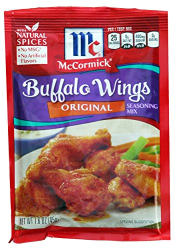 (Mccormick Original Buffalo Wing Seasoning Mix, 1.6-ounce Packets (Pack of 6) )