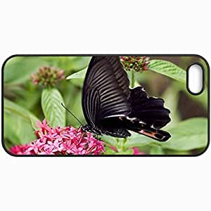 Customized Cellphone Case Back Cover For Case For Htc One M9 Cover , Protective Hardshell Case Personalized Butterfly Black