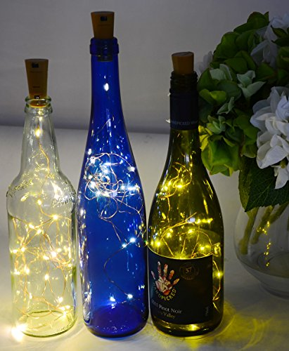 AnSaw-20-LEDS-6-Pack-Bottle-Lights-Pro-Spark-I-Cork-Shaped-Battery-Strip-Light-Dcor-Rope-Lamp-For-Seasonal-Decorative-Christmas-Holiday-warm-white