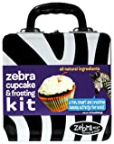 Zebra Mix Cupcake and Frosting Baking Activity Kit in a Treasure Tin