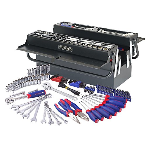 tool-set-home-workpro-183pc-handtool-set-pliers-sockets-bits-wrench-home-repair-kit-metal-box
