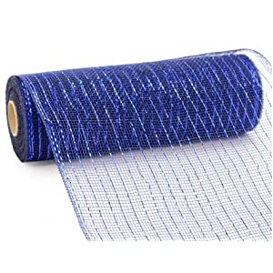 10 inch x 30 Feet Deco Poly Mesh Ribbon 63