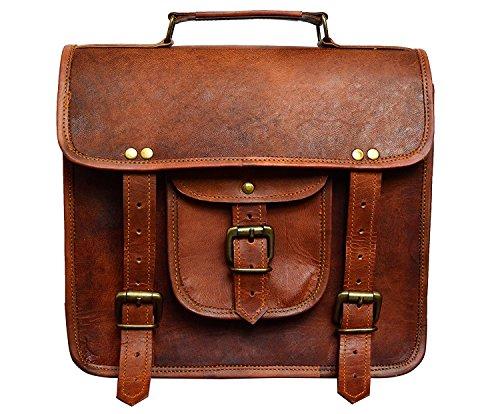 Leather Purse Men Women Shoulder Bag Crossbody Satchel Ladies Tote Travel Diaper Purse Genuine Small Leather Bag by UNS