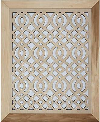 "Decorative Air Vent Cover - Arabic (5"" x 5"" - Wrap-Around"