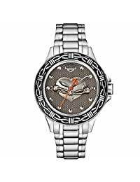 Bulova 76L166 Timepieces Women's Quartz Analog Watch with Black Dial and Stainless Steel Bracelet